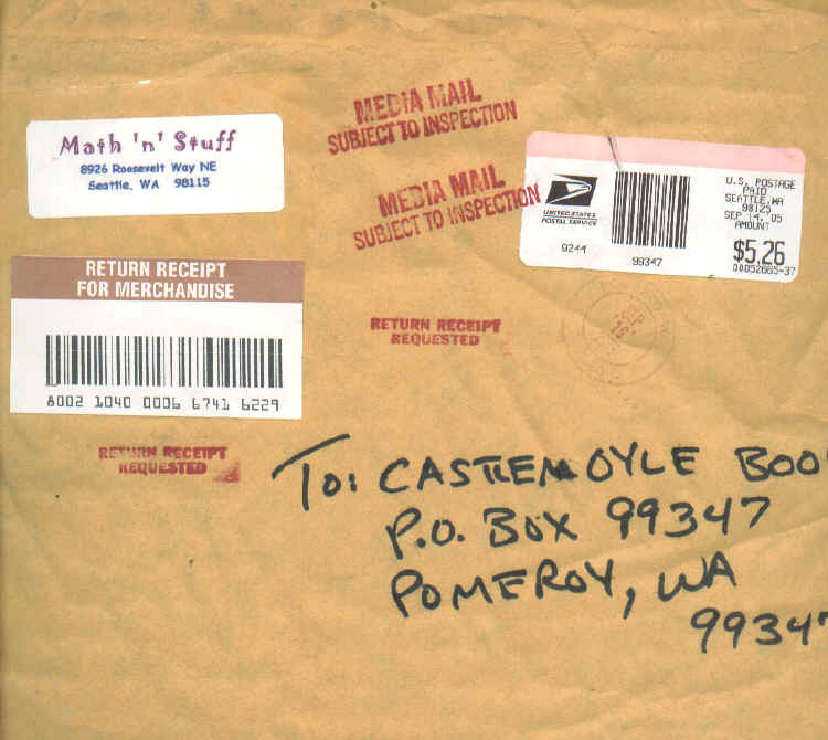 John's Modern Postal History -- Subject to Inspection (Auxiliary